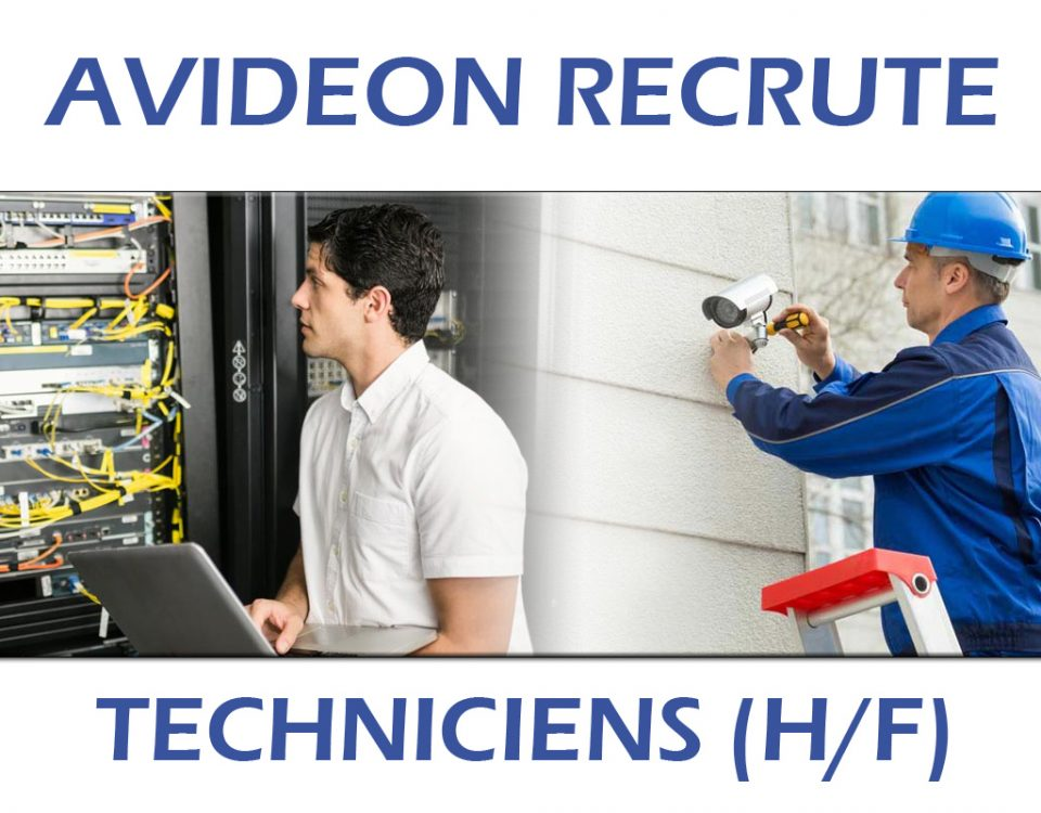 Avideon recrute - techniciens